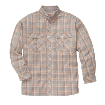 Field Flannel: Grey